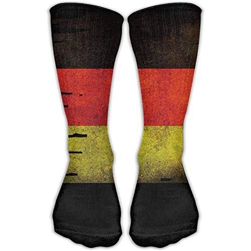 Women's Men's Classics Socks Flag Of Germany Distressed Athletic Stockings 30cm Long Sock One Size - Distressed Loafer