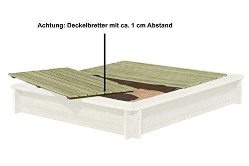 preisvergleich gartenpirat sandkasten 180x180 cm aus. Black Bedroom Furniture Sets. Home Design Ideas