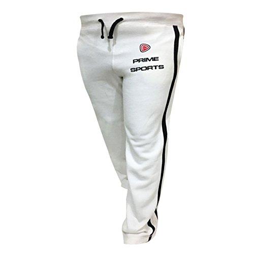 Prime Pantalon de jogging en molleton Blanc - blanc