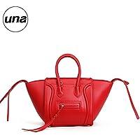 Nuova mucca scamosciata borsa in pelle per l'autunno/inverno swing in pelle borsa borse borse,rosso