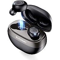 ELEGIANT Auriculares Bluetooth 5.0, Mini Cascos Inalámbricos Deportivos TWS Estéreo con Micrófono 25 Métros de