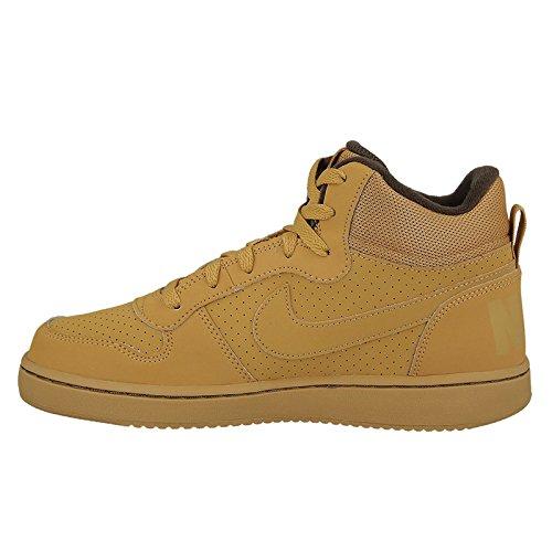 Nike  839977-700, espadrilles de basket-ball garçon Marron