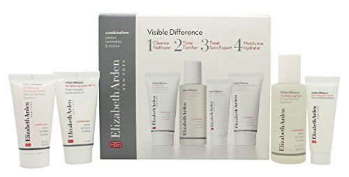 Elizabeth Arden Visible Difference Starter Kit Confezione Regalo 30ml Detergente Esfoliante + 50ml T