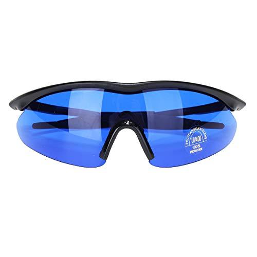 KUNSE Golf Ball Finder Brillen Blau Linse Weniger Belastende Sonnenbrillen Brille Mit Box