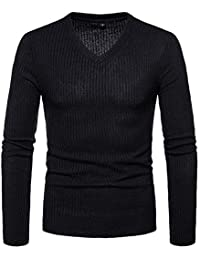 BUSIM Men's Long Sleeved Shirt Casual Autumn Winter Solid Color Slim Fashion Solid Color Personality Diagonal...