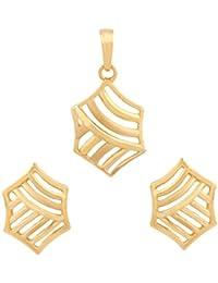 TBZ - The Original 22KT Yellow Gold Jewellery Set for Women