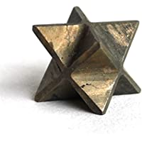 Reiki Healing Energy Charged Pyrite Crystal Merkaba Star (1.5 cm) by Krystal Gifts UK preisvergleich bei billige-tabletten.eu