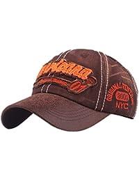 Topgrowth Cappello da Cowboy Cappello con Visiera Uomo Unisex Baseball  Cappelli Sportivi Ricamo Classico Cappello Visiera 420197169d47