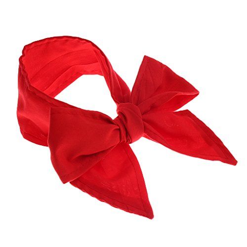 ninchen Haarband Ohr Bowknot Stirnband Kopfband Babyschmuck Haarschmuck Fotoshooting Kostüm - rot (Ohr Kostüme)