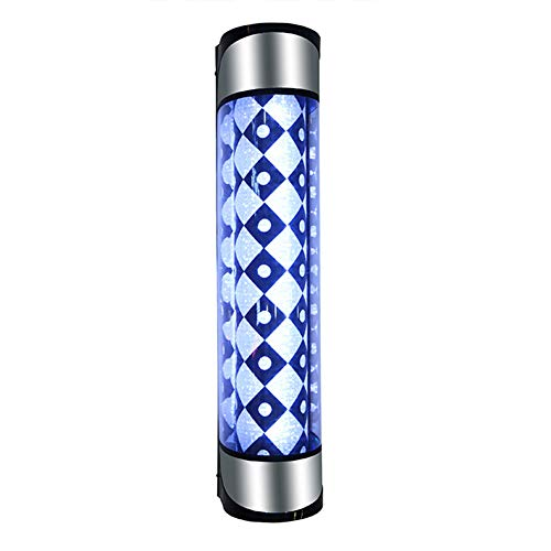 Peluquería letrero luz salón de belleza LED luz de giro salón de belleza logo luz