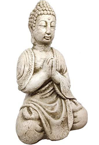 Cuir D'or Figura Buda 30 cm Piedra Artificial Ideal para Jardin