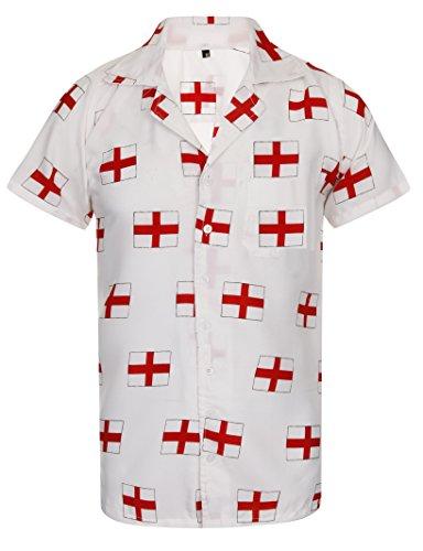 England-Shirt-Hawaiian-Shirt-Mens-Euros-2016-Loud-World-Cup-Football-Rugby-Cricket-St-Georges-Flag-Aloha-Stag-Pub-Aloha-Hawaii-S-M-L-XL-XXL
