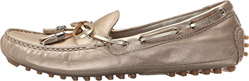 Cole Haan Grant Moccasin Soft Gold Metallic