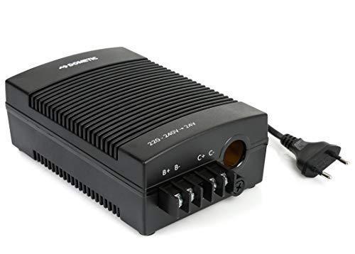 Dometic CoolPower EPS 100, AC/DC-Netz-Adapter, Wechselrichter, Spannungwandler mit Zigarettenanzünder für Anschluss von 24 V, Kühlgeräten an 230 V Stromnetz, für Auto, Wohnmobil und Camping