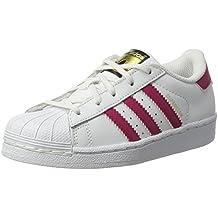 adidas Superstar C, Zapatillas de Baloncesto Unisex Niños