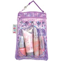 Lip Smacker Glam It Up Gift Set contains Lip Gloss/ Lip Squeezy/ Lip Balm/ Nail Polish/ Bag