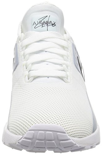 Nike W Air Max Zero, Chaussures de Running Entrainement Fille Blanc (White/black/white)