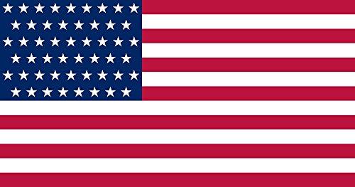 AR TACTICAL Länder Flaggen Hissfahne mit Messingösen 90x150 cm Alle Länder Wählbar Deutschland, Euro, USA, Canada u.s.w (USA) -
