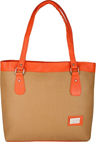 Typify Women's Handbag (Tan)