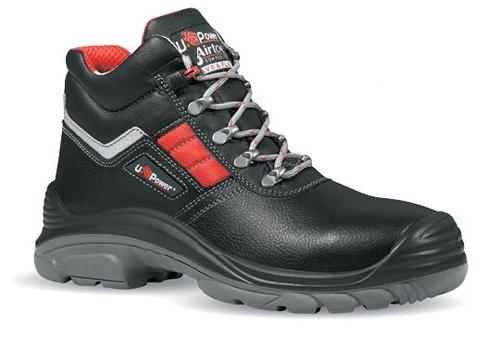 Western Power (U Power Sicherheits-Schnürstiefel Sicherheits-Stiefel DEVASTATE - S3 SRC - EN ISO 20345 - Größe: 44)
