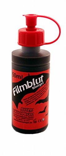 chminkfarben, Filmblut/Blutgel, hell, 1er Pack (1 x 50 ml) ()