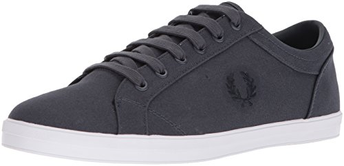 1fae7ae57c732a Fred Perry Men S Baseline Canvas Men S Grey Sneakers In Size ...