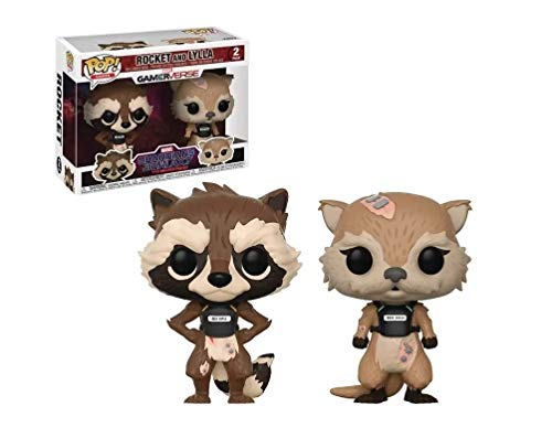 Pop Guardians of the Galaxy Telltale Rocket and Lylla Vinyl Figure 2 Pack