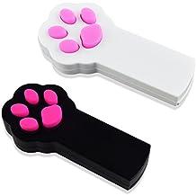 GIMARS Luce LED Interattiva Luce Indicatore Esercizio e Allenamento per Animali Domestici Strumento Giocattolo per Gatti Cani Set da due