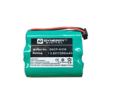 Uniden BT-1006 Cordless Phone Battery Ni-MH, 3.6 Volt, 1500 mAh - Ultra Hi-Capacity - Replacement for Panasonic HHR-P505 Rechargeable Battery  available at amazon for Rs.1929