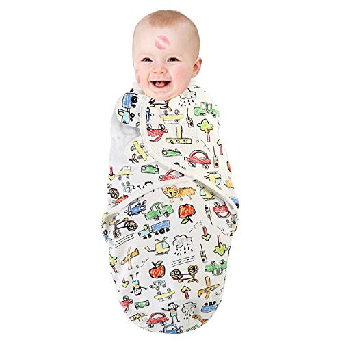 Chennie Baby Schlafsack/Schlafsack für Babys, verstellbar, atmungsaktiv, Baumwolle