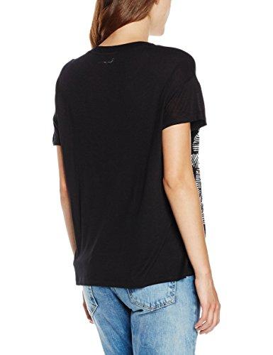 Pepe Jeans London Damen T-Shirt Gina Schwarz (Black 999)