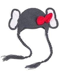 Vovotrade® Chapeau d'hiver de chapeau d'hiver de Crochet d'éléphant d'enfant de Petite Fille