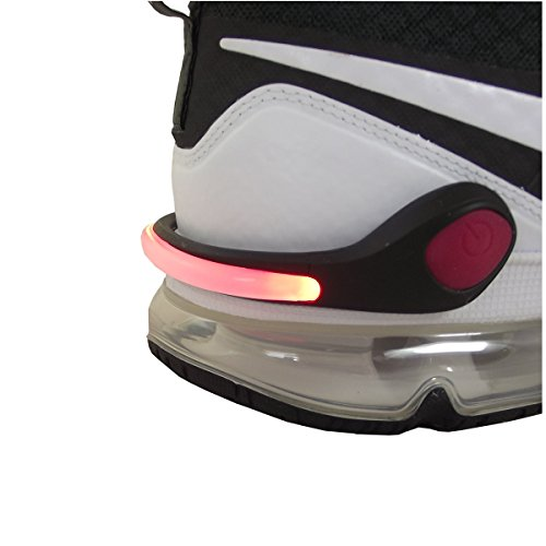 Smart-Planet® LED Schuhclip rot / Reflektor LED