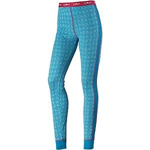 41kGyuUR8AL. SS300  - CMP Women's Pantaloni Base Layer Merino Stampati Pants