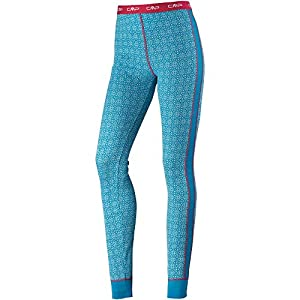 41kGyuUR8AL. SS300  - CMP Merino Base Layer Printed, Women's Trousers, women's, 38Y4116