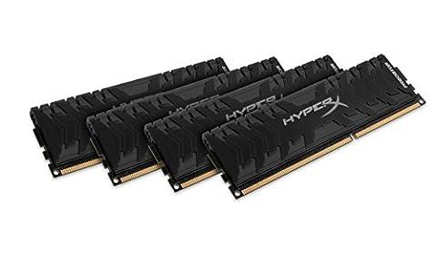 Hyper X HX318C9PB3K4/32 Predator Speicher (32GB Kit (4x8GB), 1866MHz, DDR3, CL9, DIMM XMP 240-pin) schwarz