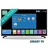 HKC 50F1: Televisore 127 cm (50 pollici) Smart-TV (4K Ultra HD, Triple Tuner con TDT/DVB-T + T2, DVB-S, DVB-C, CI+, USB 2.0) [Classe di efficienza energetica A]