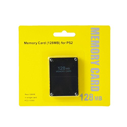 Childhood Negro 128MB Módulo de tarjeta de memoria para Sony PlayStation 2 PS2