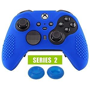 eXtremeRate Schutzhülle Hülle Tasche Silikon Case mit Analog Sticks Thumbstick Kappen für Xbox One Elite S/X PS4 Playstation 4 Slim Pro Controller