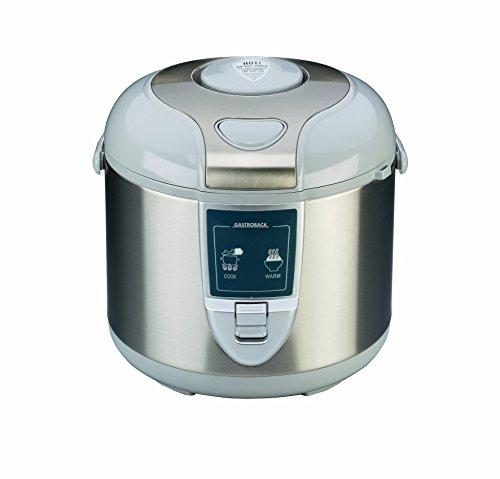 Gastroback 42507 Arrocera eléctrica, capacidad 3 litros, para cocer 5 tazas arroz 700 W