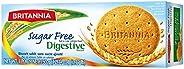 Britannia Digestive Biscuit Sugar Free, 350g - Pack of 1, 204552
