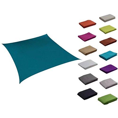 Soclear Farbiges Sonnensegel, wasserdicht, verschiedene Größen und Farben