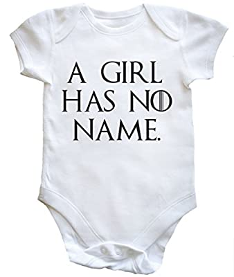 HippoWarehouse A girl has no name baby vest girls girls