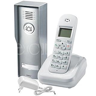 GEV 87330 Funk Audio DECT- Türsprechanlage CAF, 12 V, inneneinheit: weiß/ausseneinheit: anthrazit