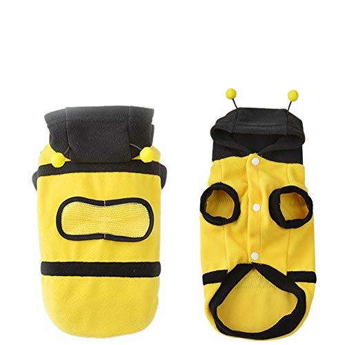 Bumblebee Pet Kostüm - PanDaDa Verkleiden Sich Kostüm Bumblebee Bee Doogie Hundemantel Kleidung Haustier Bekleidung