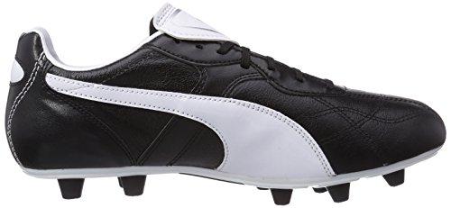 Puma  Liga Classico FG, Chaussures de Football Entrainement homme Noir (Black/White/Puma Silver)