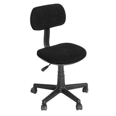 Yanyan Office Chair Black 45x39.5x73-84.5 cm