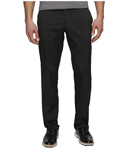 Nike Herren Flat Front Golfhose, Black, 38-32