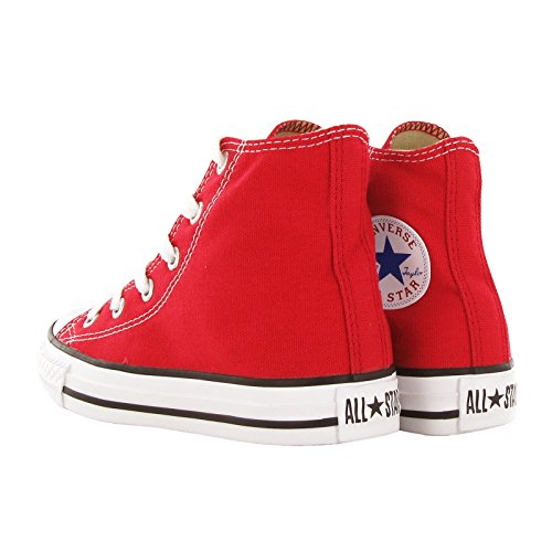 Converse Unisex-Kinder All Star Youth Hohe Sneakers Red