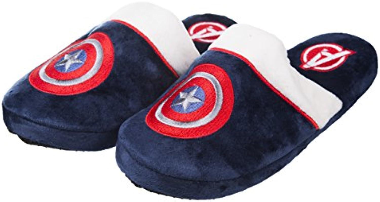 Marvel Captain America Adult Mule Slippers UK Size 8-10 -